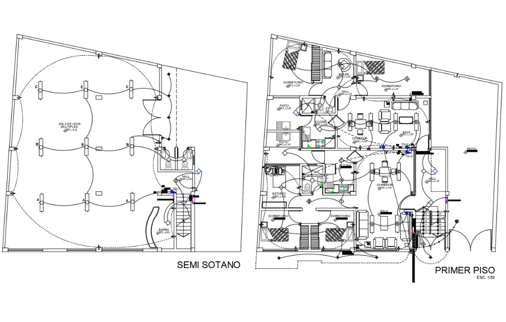 House Wiring Plan Drawing House Wiring Plan Drawing Electrical Installation
