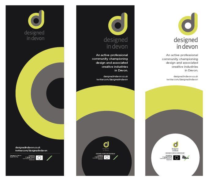 Popup banners design   branding
