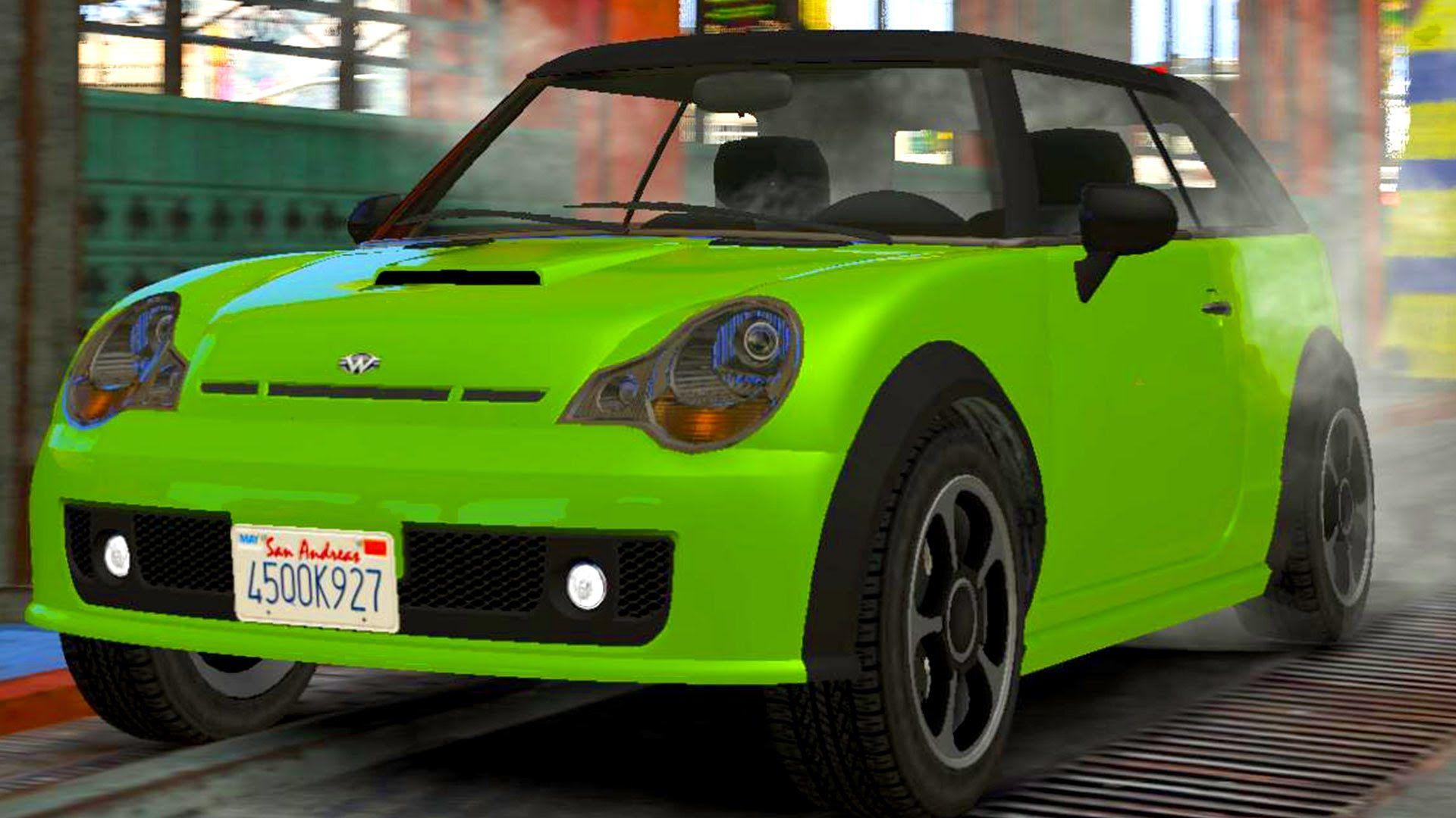 Mini Cooper Convertible Car Wash Realistic Kids