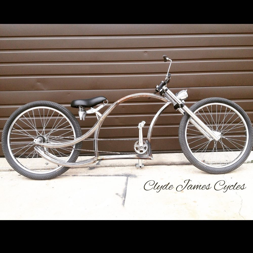 Custom Bicycle 24 Chopper Bicycle Lowrider Bike Bobber Beach