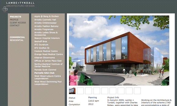 Lambe Tyndall Architecture Design Ionic With Images Portfolio Web Design Architecture Design Architecture