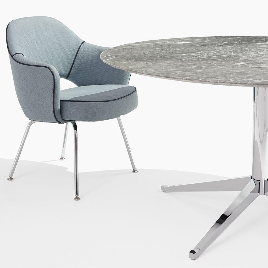 Florence Knoll Table Desk - Round   Möbel   Pinterest   Möbel