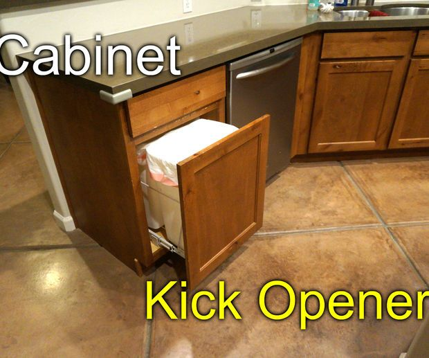 Lovely toe Kick Cabinet Opener