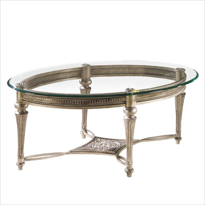 Sofa Beds Magnussen Galloway Piece Oval Glass Top Cocktail and End Table Set