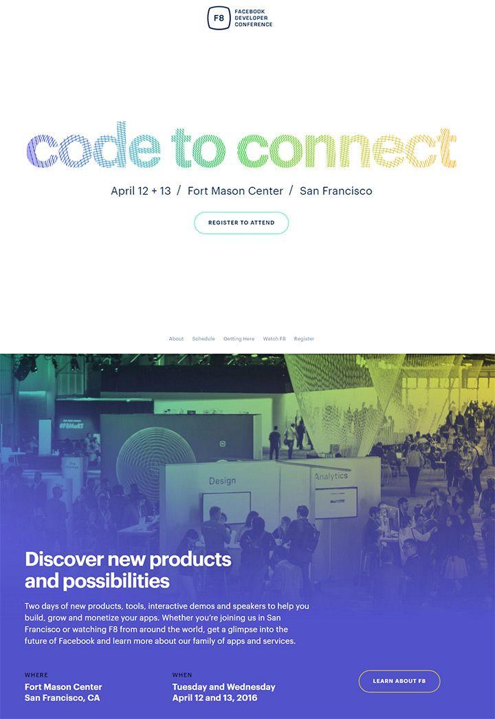 Http Whatpixel Com Conference Event Web Design Web Design Conference Fort Mason