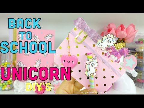 4 diys unicorn back to school ideas youtube do it yourself 4 diys unicorn back to school ideas youtube solutioingenieria Image collections