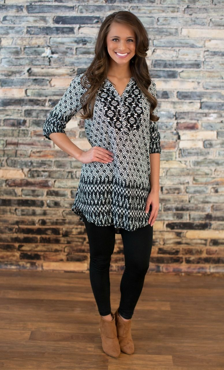 The Pink Lily Boutique - Show Me The World Tunic Dress, $38.00 ...