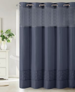 Hookless Downtown Soho 3 In 1 Shower Curtain Bedding Curtains Soho