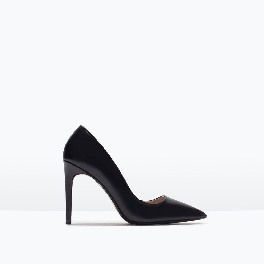 0d2aff937af LEATHER COURT SHOE-Shoes-WOMAN