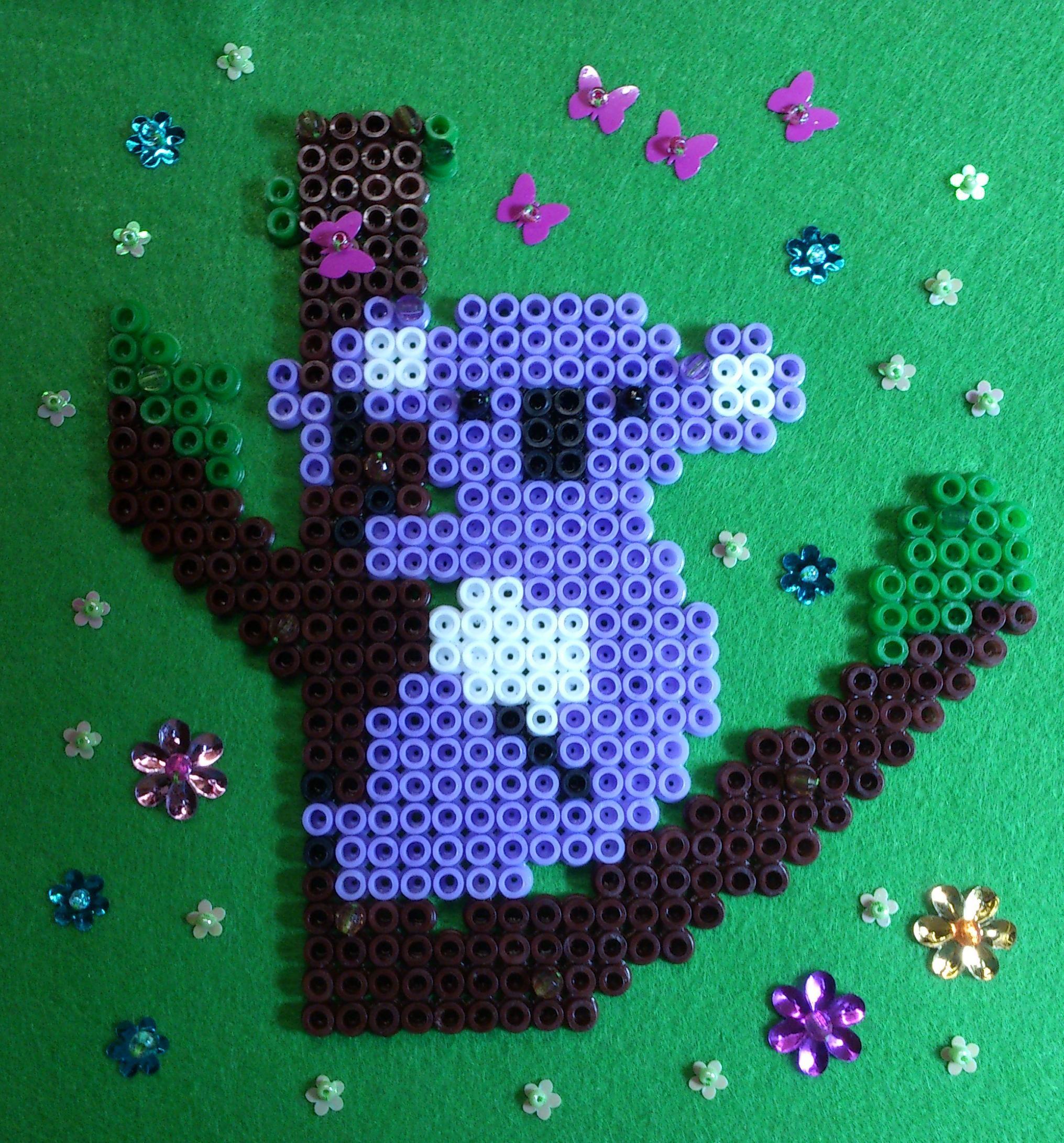 Koala hama perler beads by Sonja Ahacarne | perler bead patterns ...