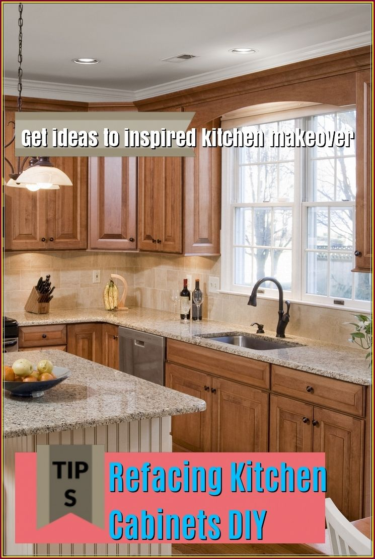 Do It Yourself Home Design: Refacing Kitchen Cabinets DIY To Change A New Look