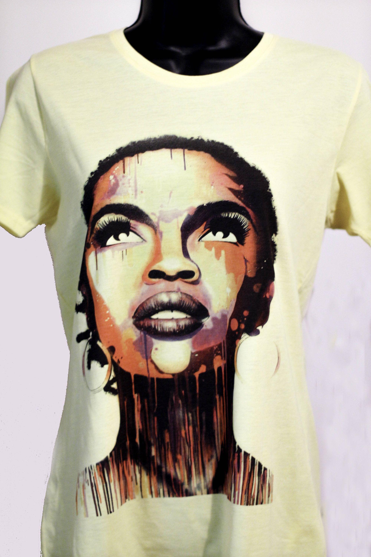 8e9a64cf8 Gorgeous Lauryn Hill gray t shirt,white t shirts,yellow t shirt,gifts, Lauryn  Hill Tee, Tees,shirt Lauryn Hill t shirt, gifts