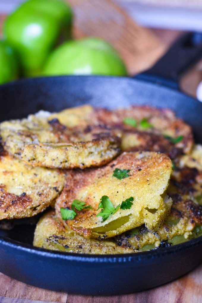 Classic Fried Green Tomatoes These Fried Green Tomatoes are a little slice of Southern heaven, but thankfully you don't have to travel to the South to make them!