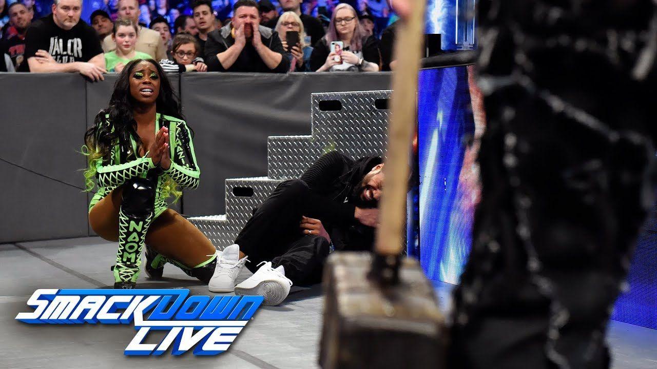 Jey Uso vs  Harper: SmackDown LIVE, April 17, 2018 - YouTube