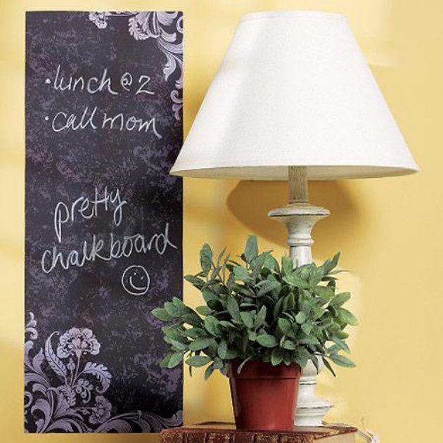 Frilly Peel Stick Chalkboard Decal Chalkboard Wall Decal Chalkboard Decal Chalkboard Wall