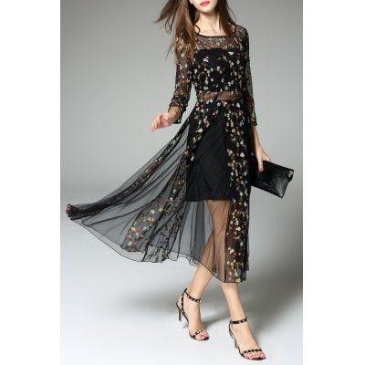 Midi Dress Black L Designer Dresses Sale, Price & Reviews ...