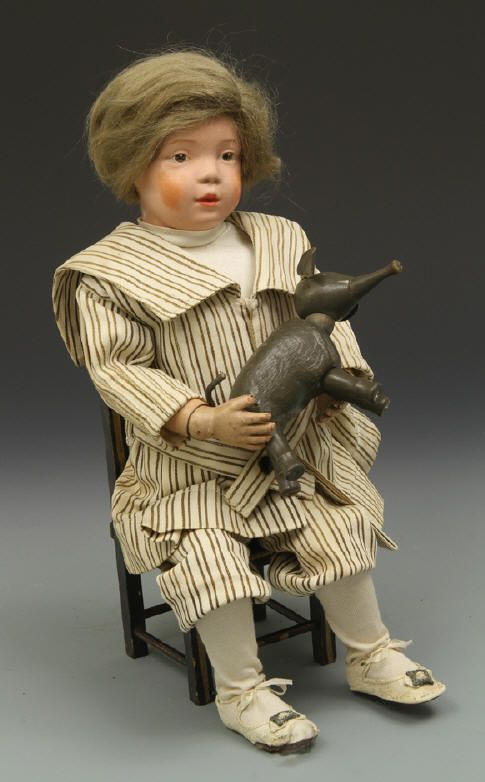 A. Schoenhut Company Dolls at Play