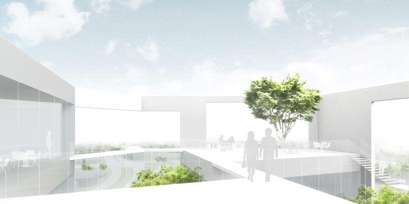 sou fujimoto to design new wing of kunsthalle bielefeld - designboom | architecture & design magazine