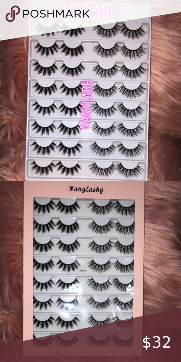 😱😱16 Pairs Faux wispy Mink Lashes LashBook 😱😱 😱😱 🔥🔥 NEW 16 pairs 3D Faux Mink Hair False Eyelashes Natural Long /Thick 3D Eyelashes Crisscross Full Strip Lashes Handmade Eyelashes🔥🔥 #WispyLashes #FauxLashes #3dlashes #Crueltyfreelashes ‼️‼️Add more to save more on order and shipping ‼️‼️ Makeup False Eyelashes