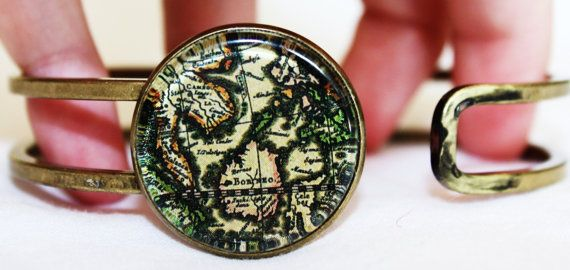 World map bracelet worldmap clear bags and antique maps world map bracelet gumiabroncs Gallery