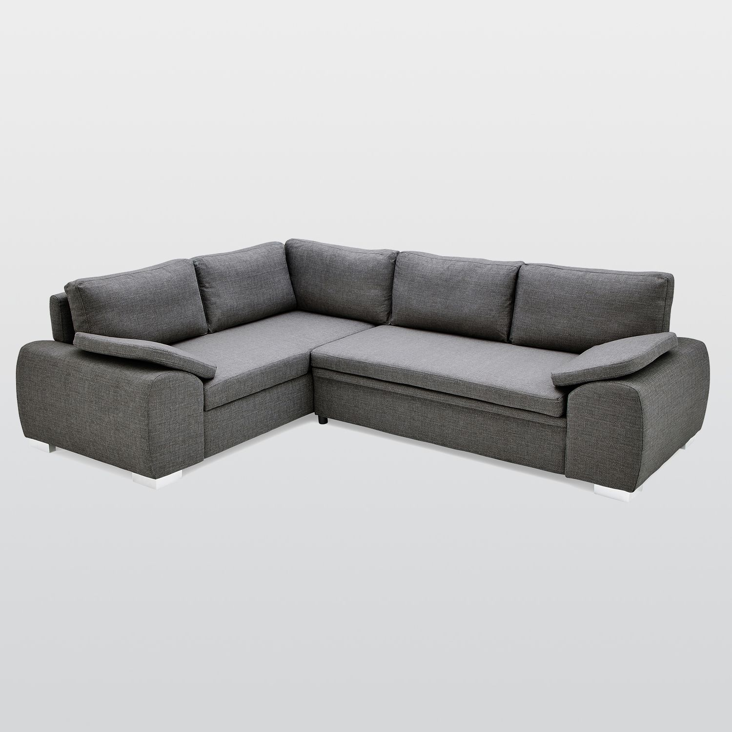 Enzo Corner Sofa Bed With Storage Fabric Next Day Delivery Enzo Corner Sofa Bed With Storage Corner Sofa Bed With Storage Upholstered Sofa Corner Sofa Bed