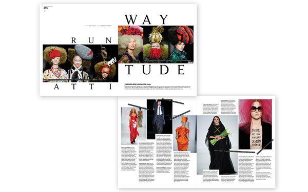 Modern Design Magazine - Malaga, Spain | Spread| Designed by ...