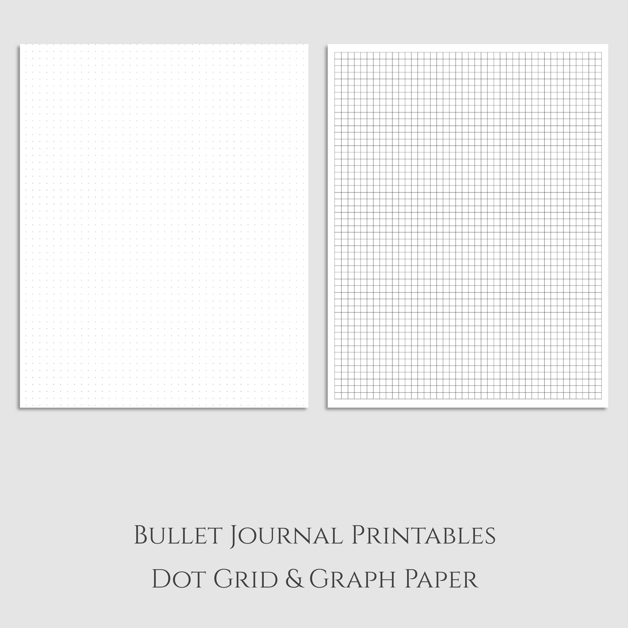 worksheet Graph Paper Print Out love the versatility of dot grid paper and graph want to bullet journal printables sarcasm sweet tea