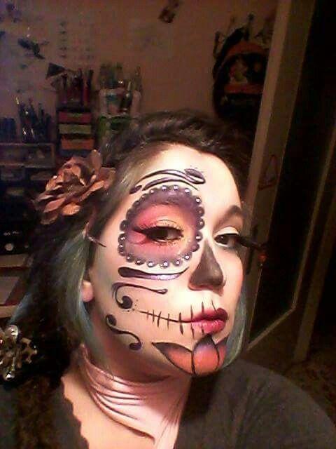 makeup #makeupartist #draw #face #halloween #carnevale #kryolan ...