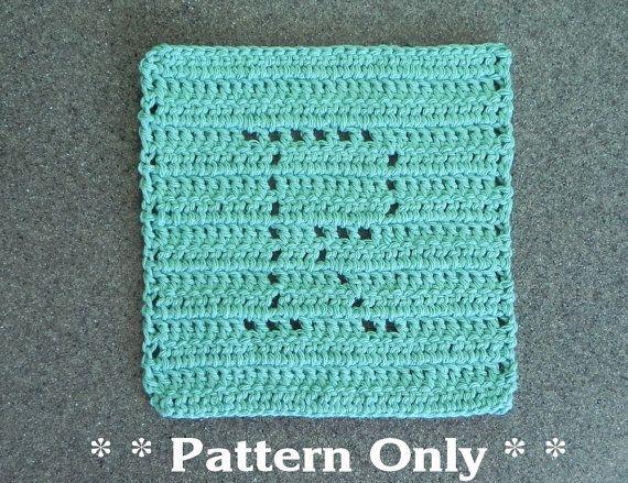 Letter R Crochet Pattern For Wash Cloth By Auntsusanscloset