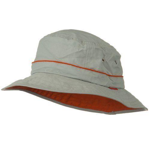 9d6ebcae6ffff9 UV 50+ Orange Piping Talson Sun Bucket Hat - Grey W11S50D Juniper, http: