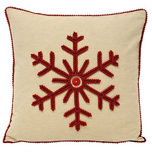 Paoletti Nicholas Snowflake Christmas 100% Cotton Cushion Cover, Red, 43 x 43 Cm Paoletti http://www.amazon.co.uk/dp/B015XYPVOW/ref=cm_sw_r_pi_dp_YKP8wb1X6P9Q6