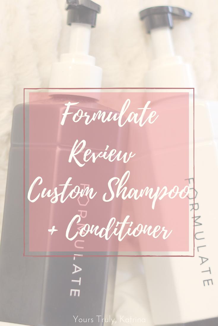 Formulate Review Custom Shampoo & Conditioner Shampoo