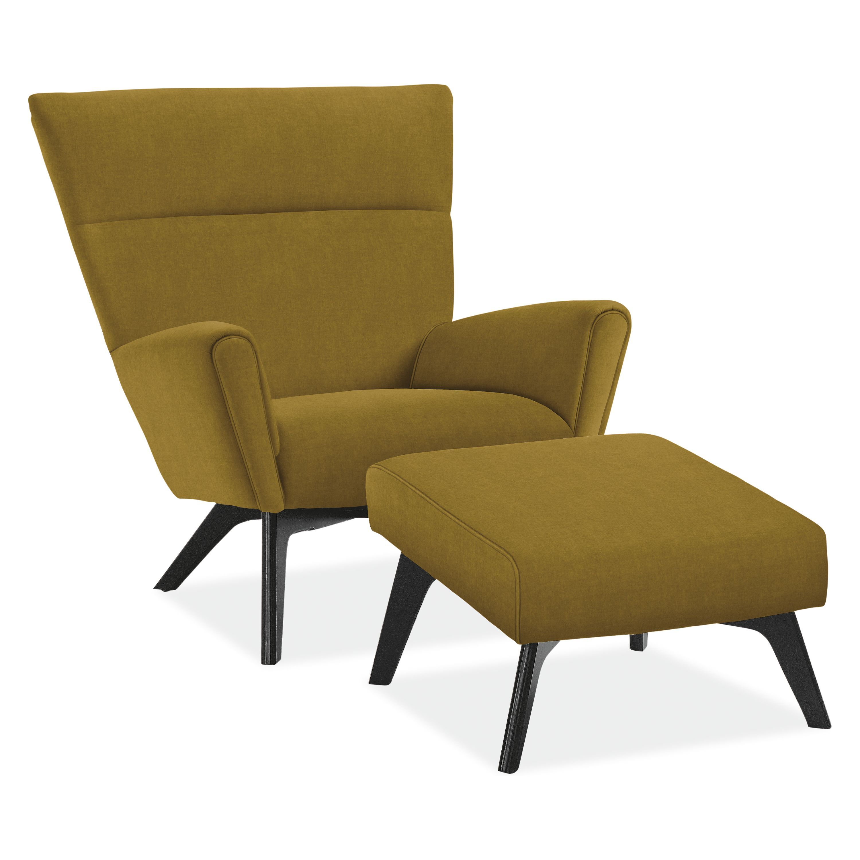 Boden Chair Ottoman Accent Chairs Modern Living Room Furniture Chair Ottoman Ottoman Furniture