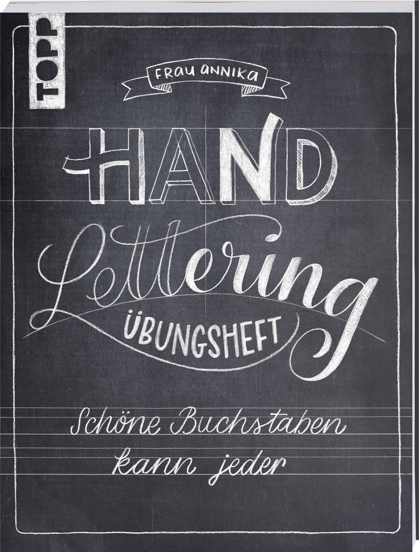 Handlettering Übungsheft   Schöne buchstaben, Lettering, Lettering ...