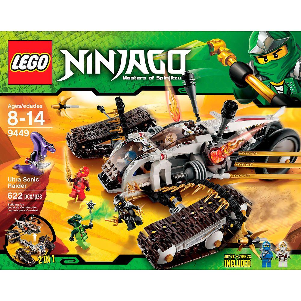 Lego Ninjago Ultra Sonic Raider 9449 Lego Toys R Us Lil