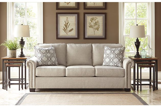 Evoking Such European Charm Farouh Sleeper Sofa Is Right At Home With So Many Aesthetics The Time Honored Profile And Pleated Roll Arms Represent