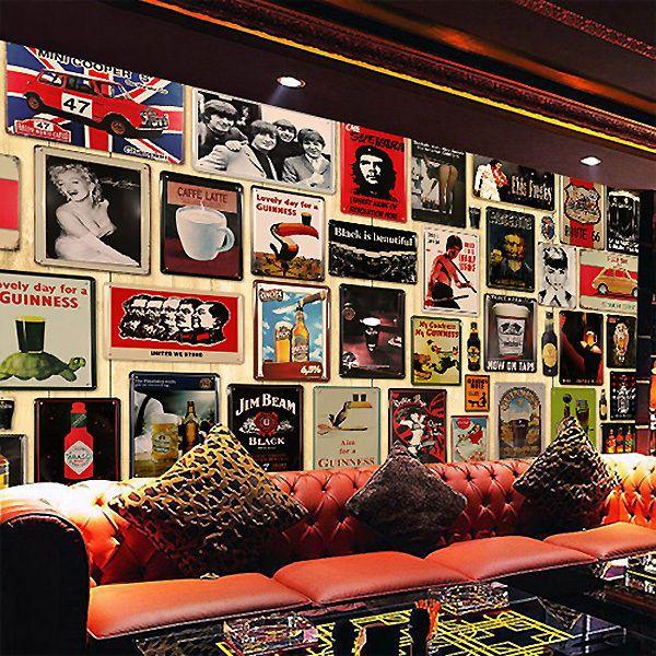 Vintage Retro Metal Tin Sign Poster Plaque Bar Pub Club Wall Home