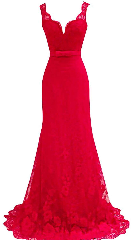 115fe02d57 SaiDeng Vestidos Para Mujer Vintage Coctel V Cuello Fiesta Para Bodas Largos  De Noche Ceremonia Ropa
