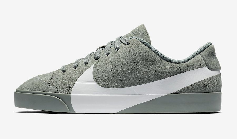 Nike Blazer City Low XS Clay Green AV2253-300 Release Date ... 6a63e2f25
