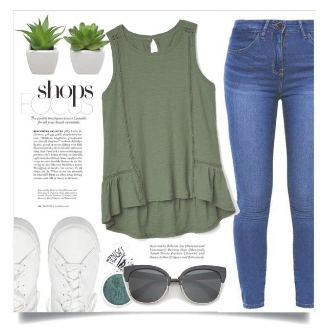 """""""everyday outfit"""" by ainzme ❤ liked on Polyvore featuring Loeffler Randall, Gap and Medusa's Makeup"""