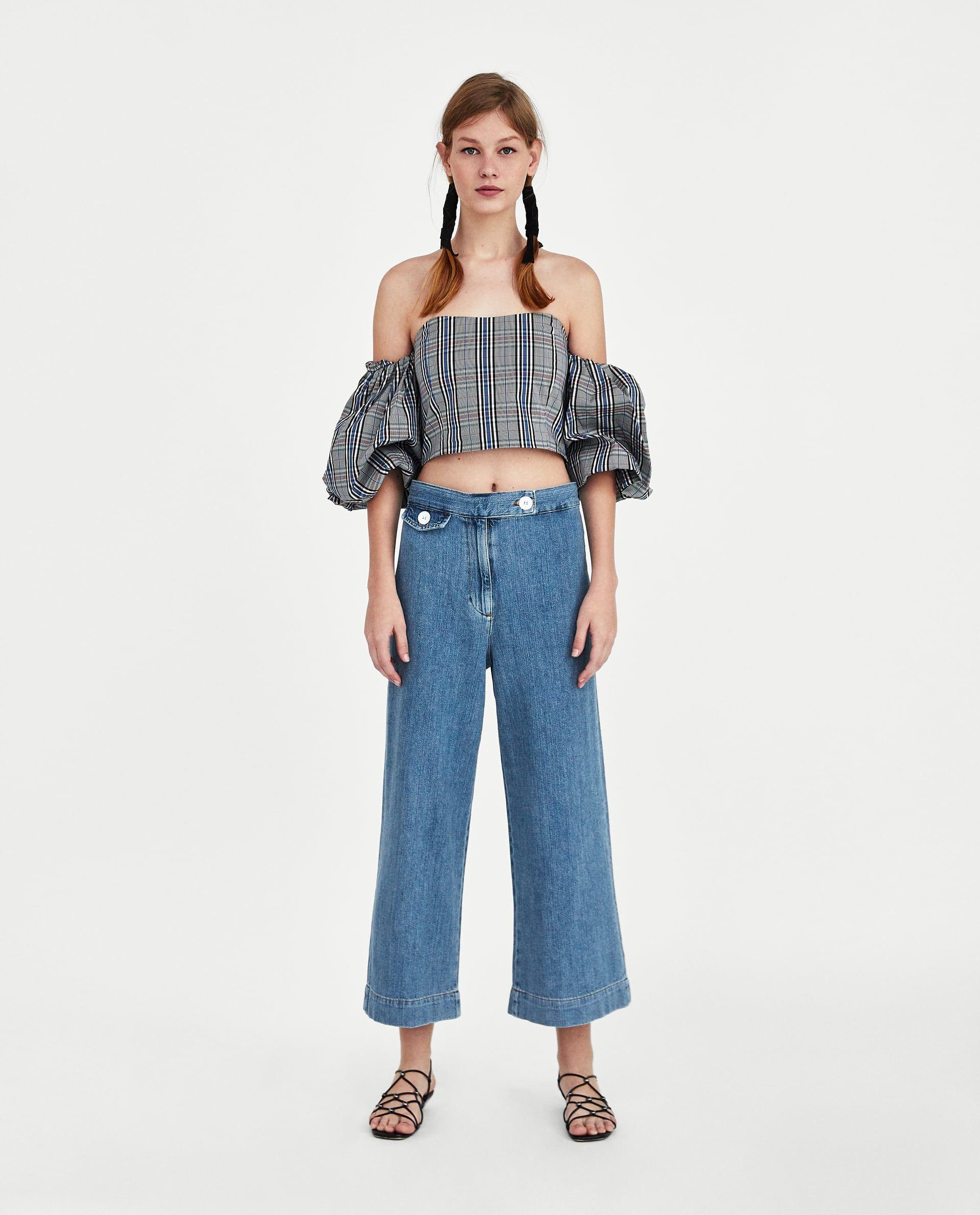 zara culotte bukser
