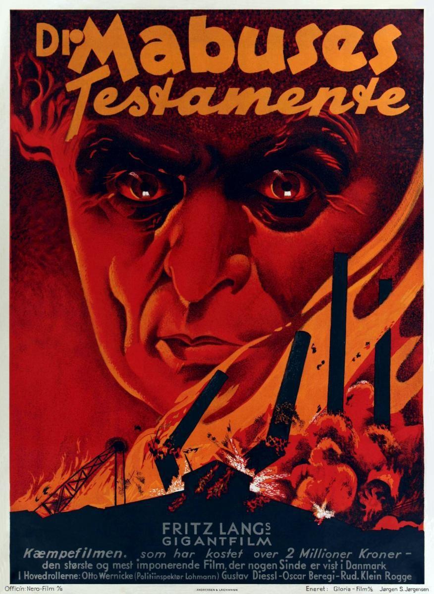 Αποτέλεσμα εικόνας για Das Testament des Dr. Mabuse