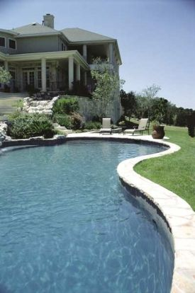 Love the design of this! I don't want I a regular shaped pool.