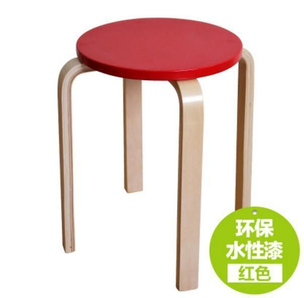 Wooden Stool Modern Home Wooden Stool Living Room Dining Chair Hotel Cafe Bar Chair