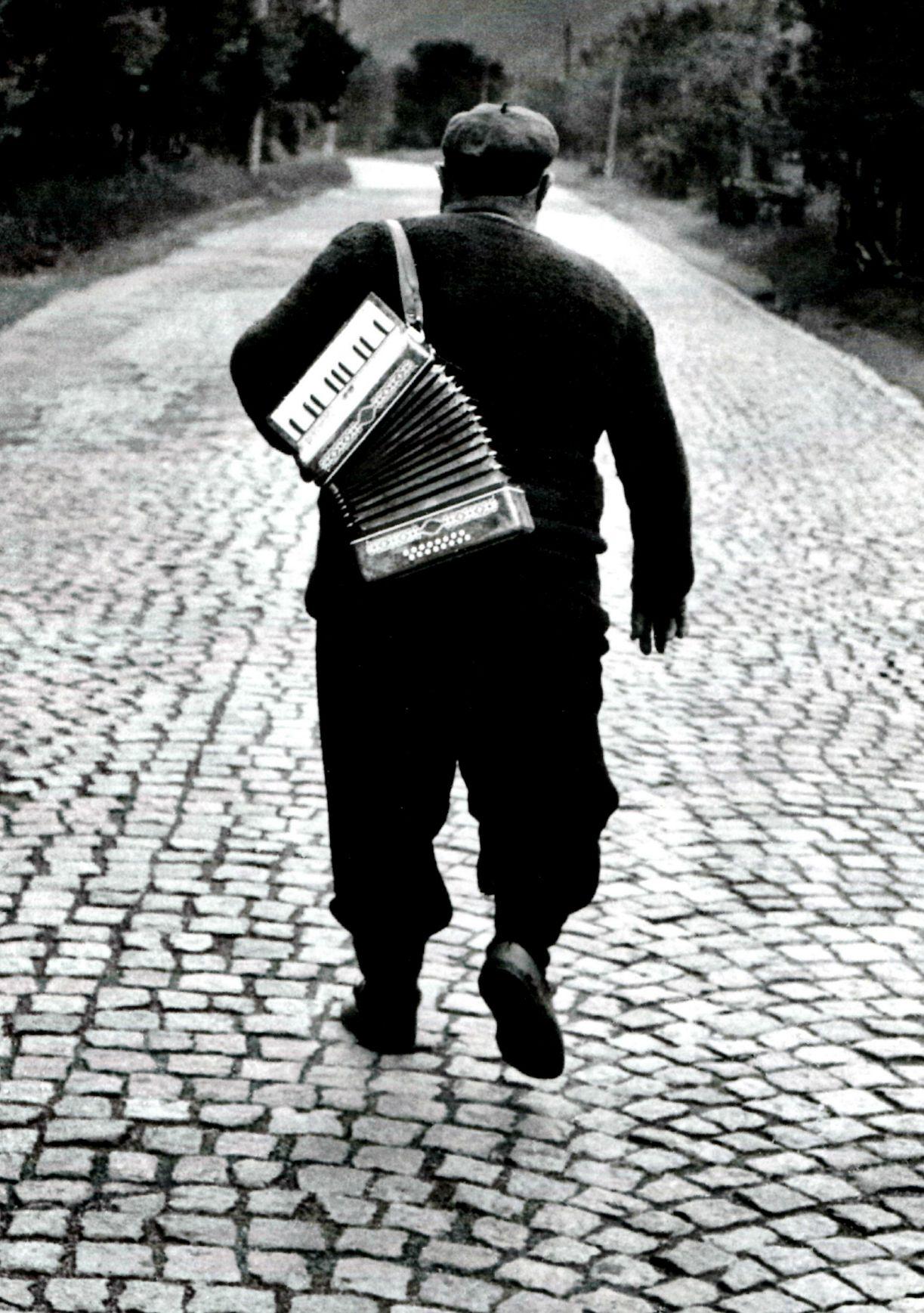 """""""A man is a man when a man is on the road"""" a photograph by Jacko Vassilev."""