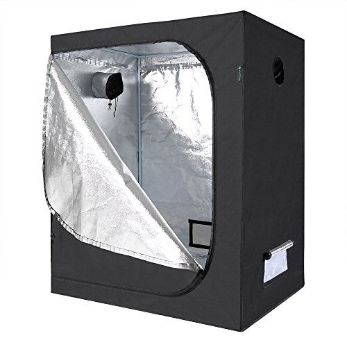 Cheap IDAODAN Mylar Hydroponic Grow Tent for Indoor Seedling Plant Growing w/ Metal Push-  sc 1 st  Pinterest & Cheap IDAODAN Mylar Hydroponic Grow Tent for Indoor Seedling Plant ...