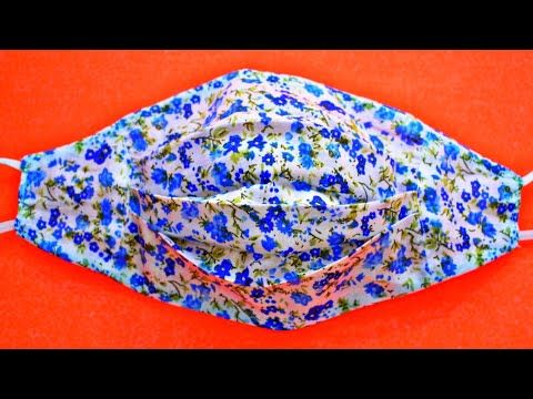 Photo of (New Style) Face Mask Sewing Tutorial – Make Fabric Face Mask At Home – DIY Cloth Face Mask