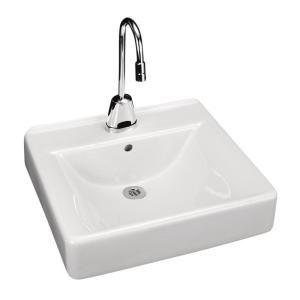 kohler soho wall mount bathroom sink in white k 2084 0 at the home rh pinterest com