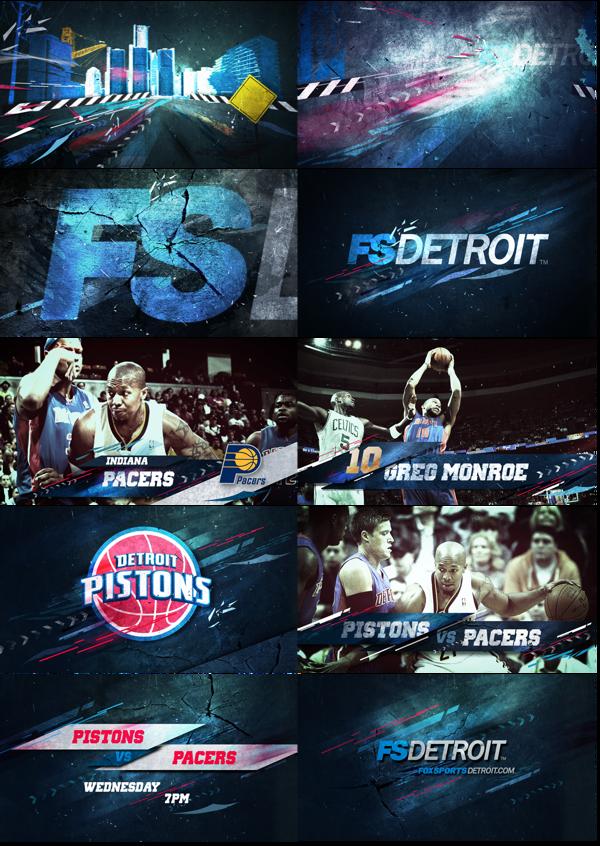 FOX Sports NBA on Behance Fox sports, Trade show booth