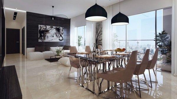 Cool Dining Room Design for Stylish Entertaining #interiordesign #inspiration #decor #home #design #style #living #interiors #lighting